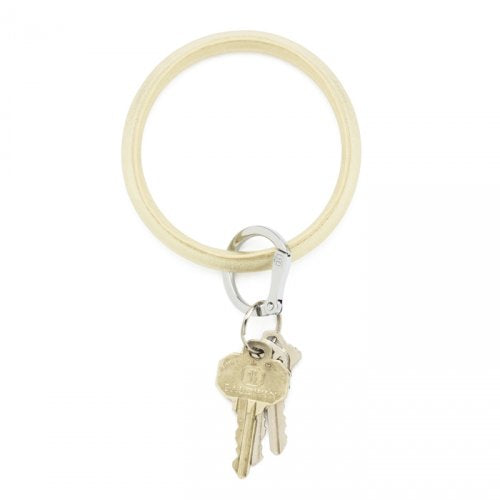 O-Venture Gold Rush Leather Key Ring