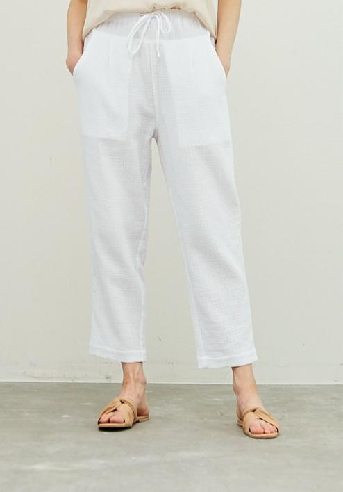 Hayden Gauze Pants in White