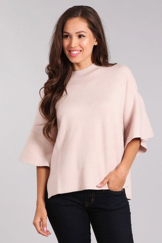 Ready For Fall Sweater Mauve