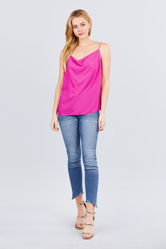 The Carlea Cami in Magenta