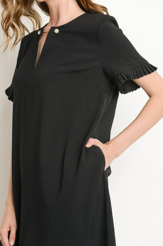 Cool Under Pressure Dress Black