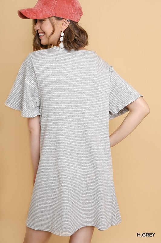 The Little Things Dress Grey