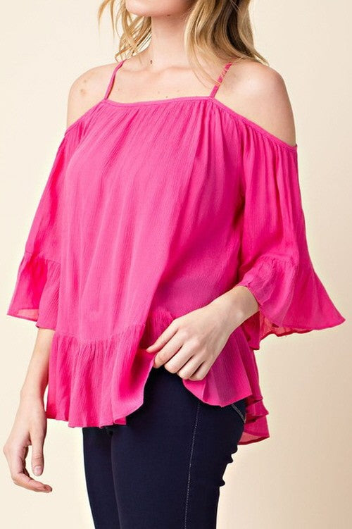 Tickle Me Pink Top