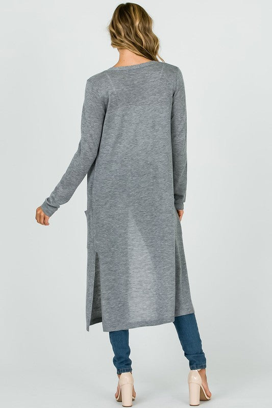 A Stroll In the Park Sweater Grey