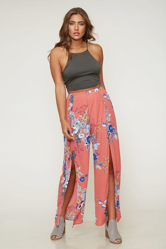 In Full Bloom Floral Pants