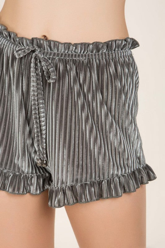 Breakfast In Bed Shorts Grey