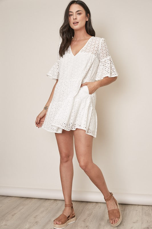 Brynlee Lace Dress