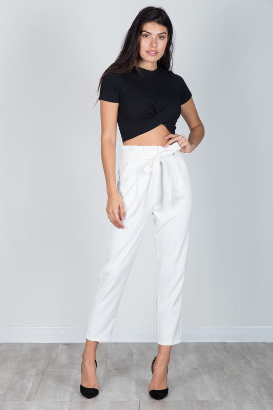 Walk the Walk Pants Off White
