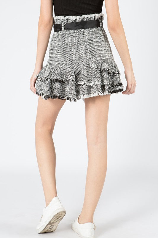 The Grace Tweed Skirt