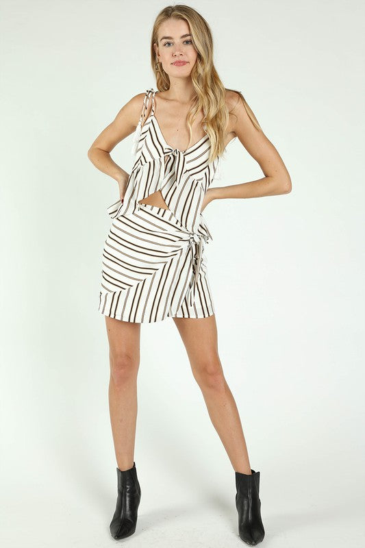 Cute and Casual Striped Set
