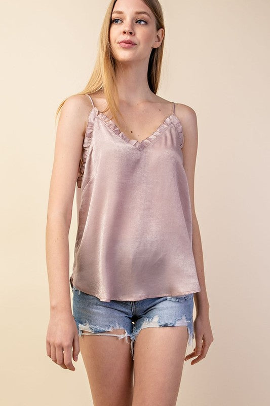 Molly Cami in Blush
