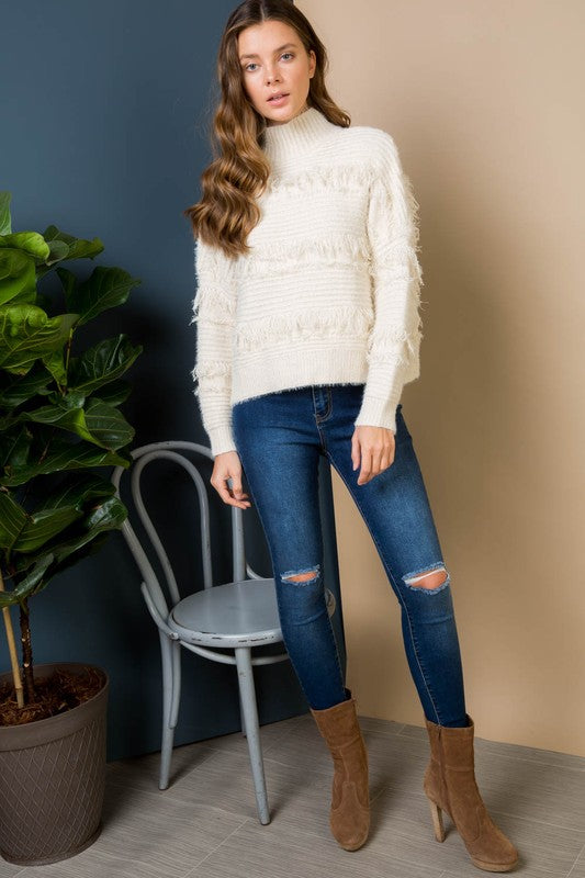 The Aspen Sweater Ivory