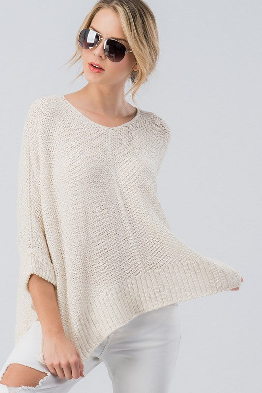 Knit Your Ordinary Sweater Oatmeal