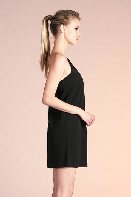 Take Me Away Dress Black