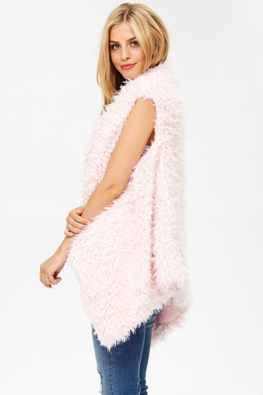Cotton Candy Cutie Vest