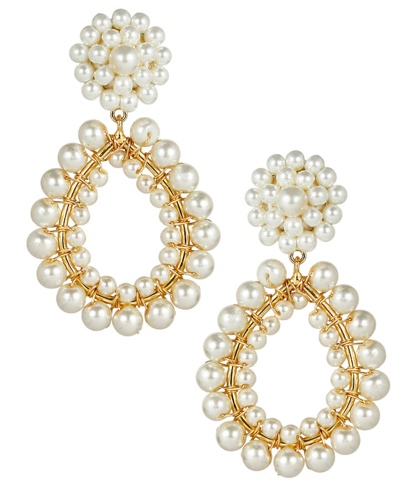 The Margo Pearl Earrings