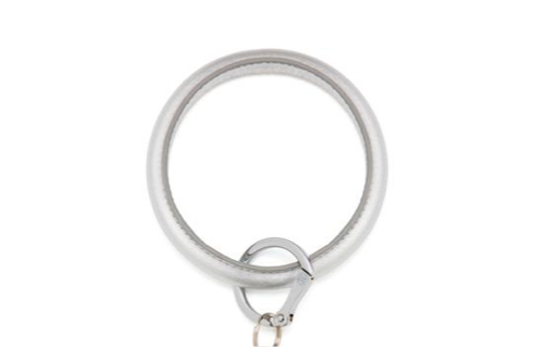 O-Venture Quicksilver Leather Key Ring