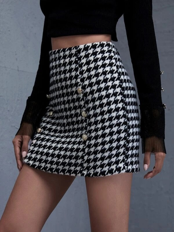 Jackie Tweed Skirt