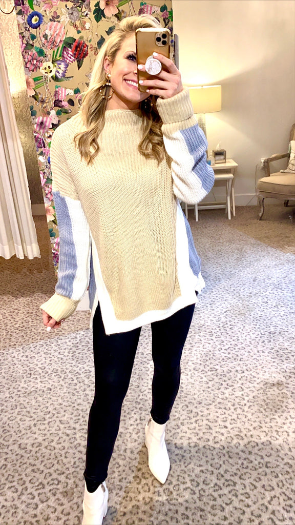 Lauren Sweater in Taupe