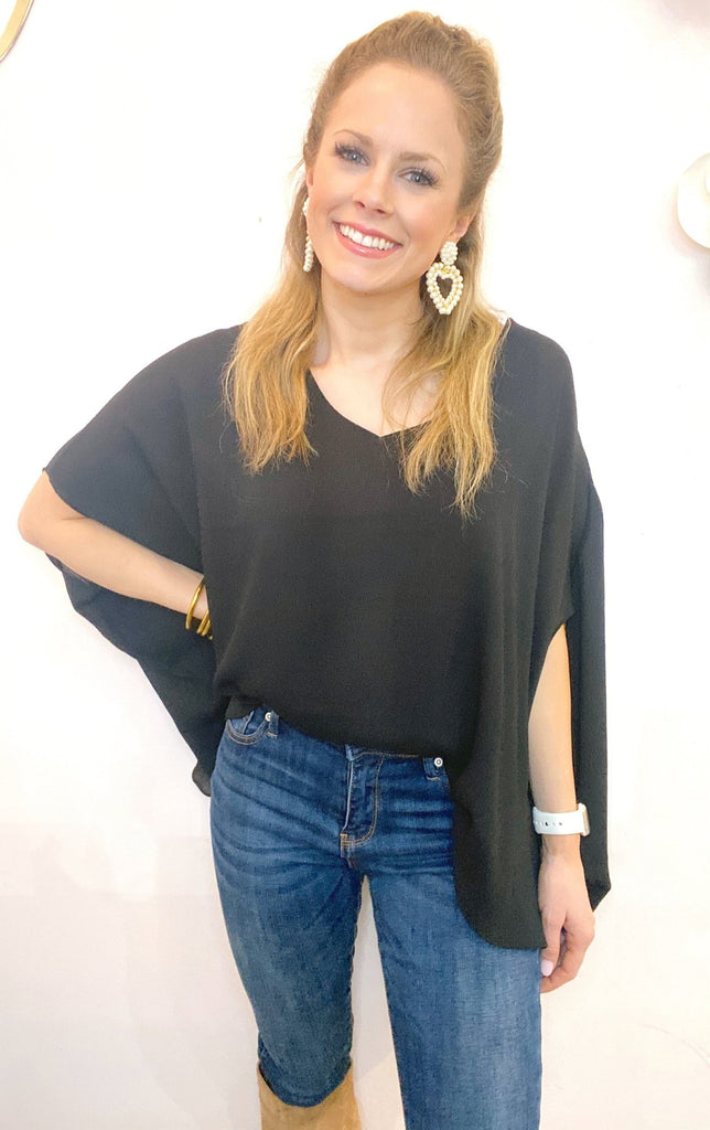 Ava Blouse in Black