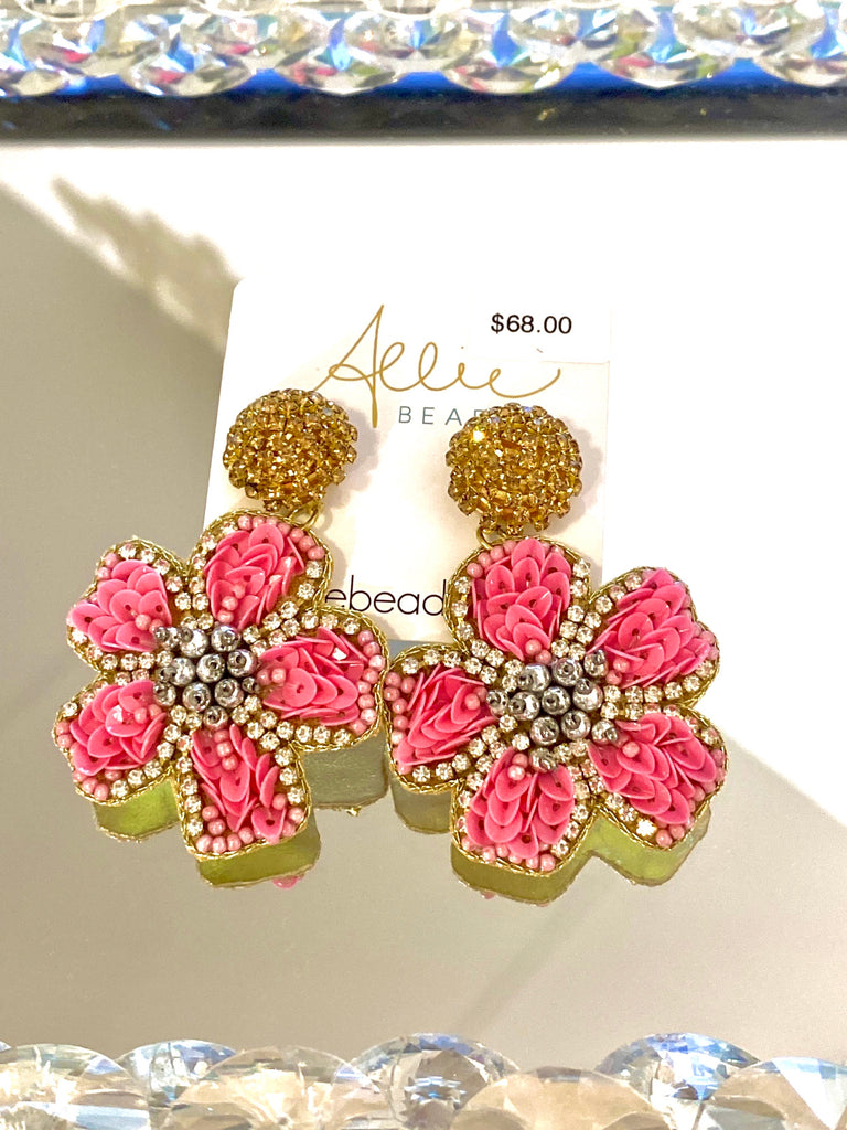 Emma Earrings Pink