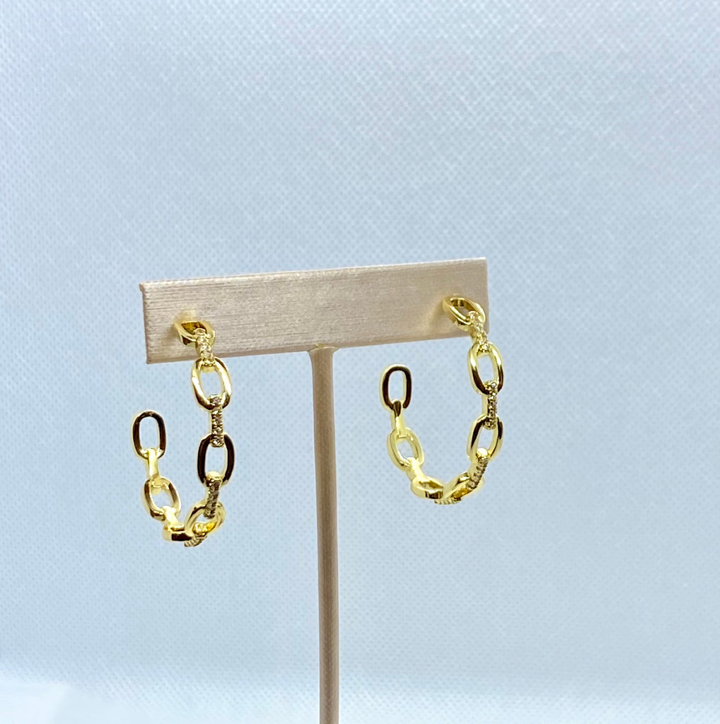 Britta Hoop Earrings