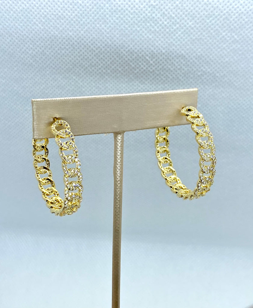 Alexis Hoop Earrings