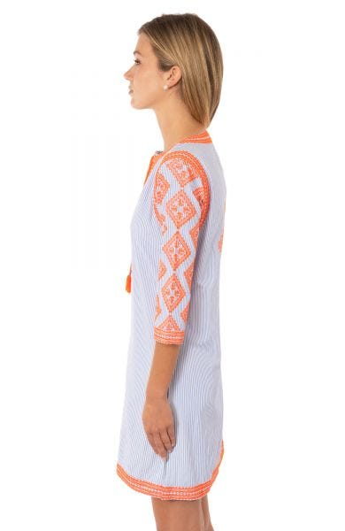 Odessa Embroidered Dress