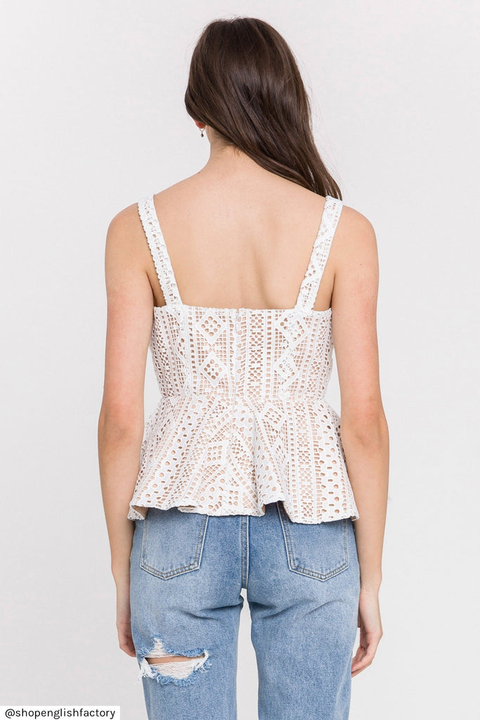 The Penelope Lace Top