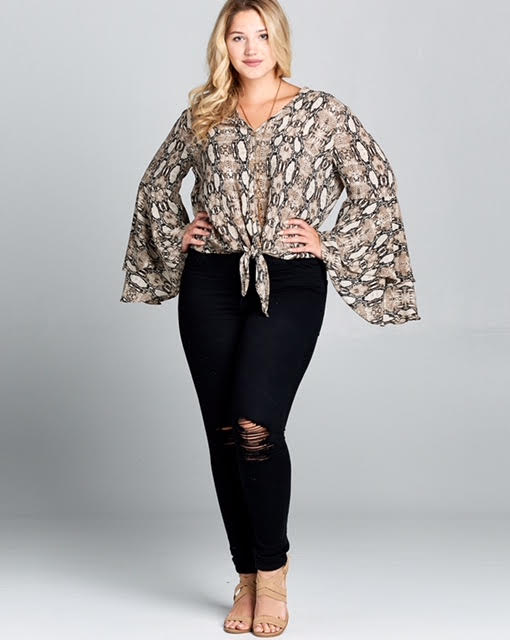 Slither On Top Plus Size