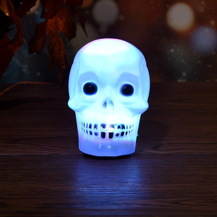 New Hot LED Flash Skull Night Light Light