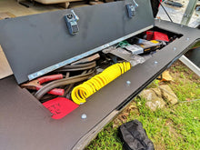 Load image into Gallery viewer, 100 Series Land Cruiser tailgate storage mod