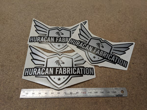 Huracan Fabrication stickers