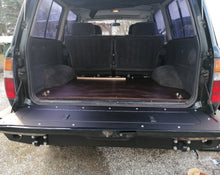 Load image into Gallery viewer, 80 Series Land Cruiser tailgate storage mod