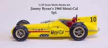 1/25 1960 Jimmy Bryan Metal-Cal Spl. Indy resin kit offy Indycar model