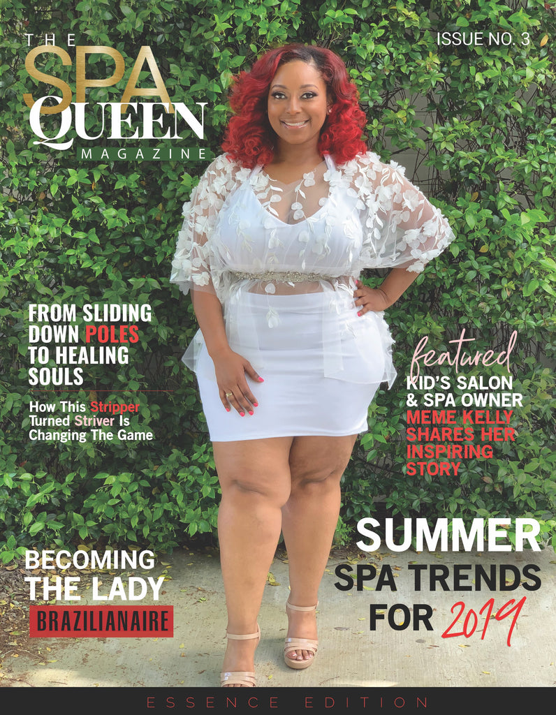 Silk Me Kids Owner Meme Kelly Featured in The Spa Queen Magazine