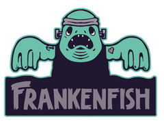 Frankenfish graphic design