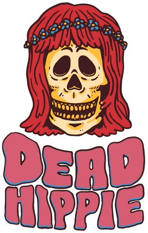 Dead Hippie graphic design
