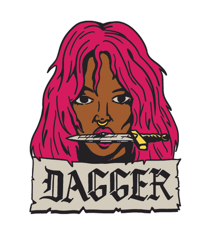 Dagger graphic design