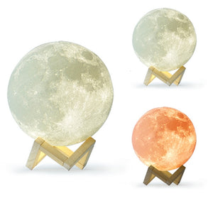 "Lampe ""ambiance lunaire"""