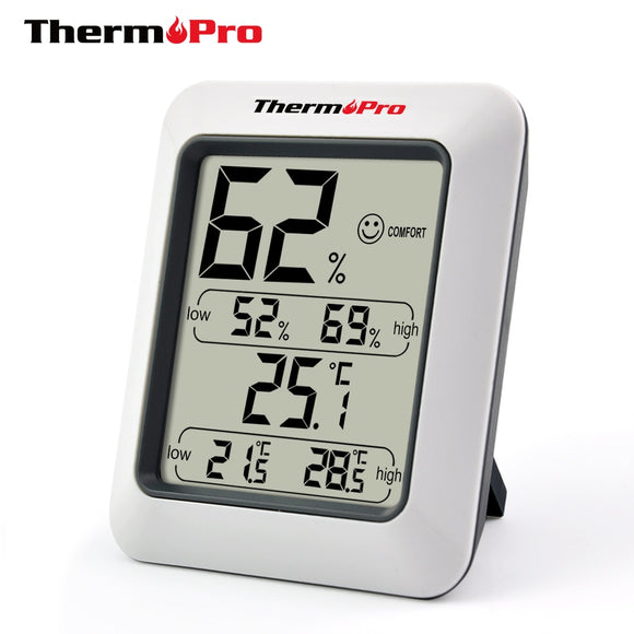 thermopro TP50 Thermo-hygromètre contrôleur d'air ambiant
