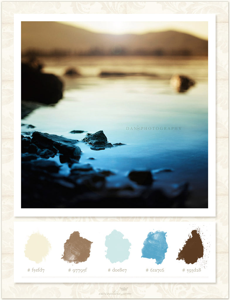Color inspiration Monday - Never alone