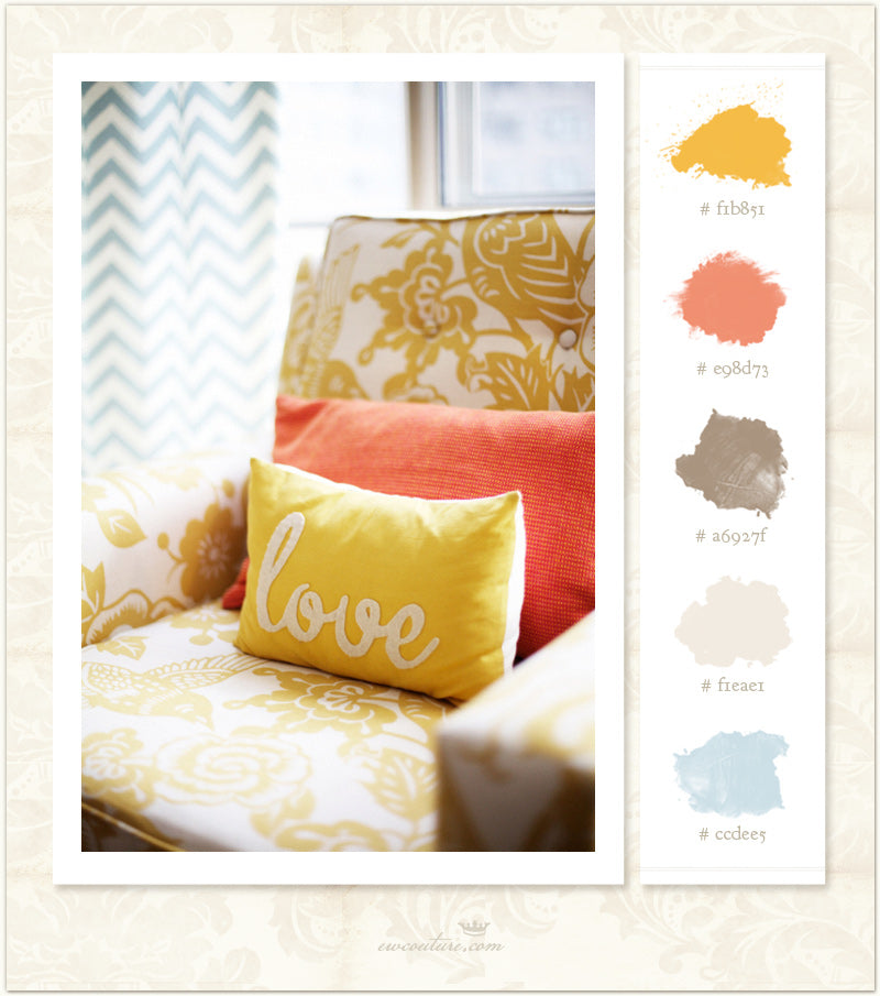 Color Inspiration Monday :: Rue Love