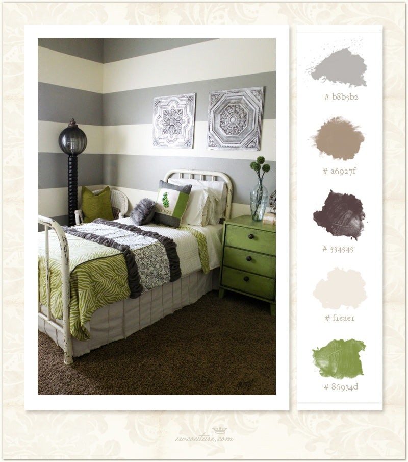 Color Inspiration Monday :: Modern and Vintage