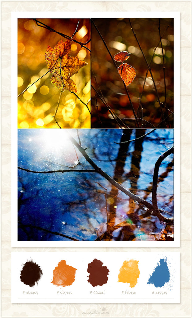 Color Inspiration Monday - Sunshine in the Fall
