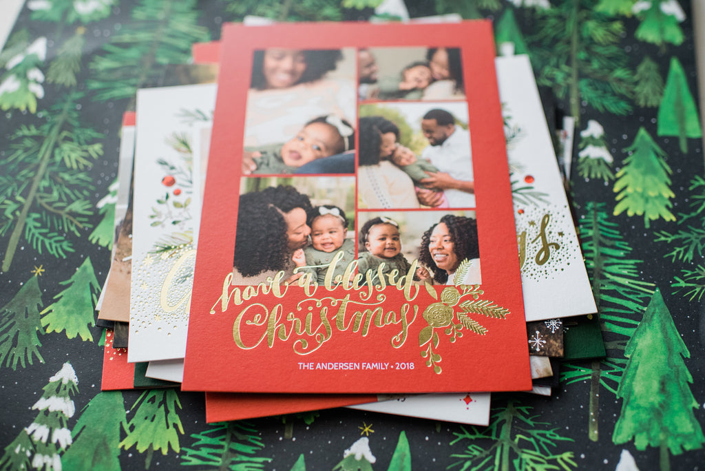 Christmas and Holiday Cards EW Couture Collection with Mpix.com