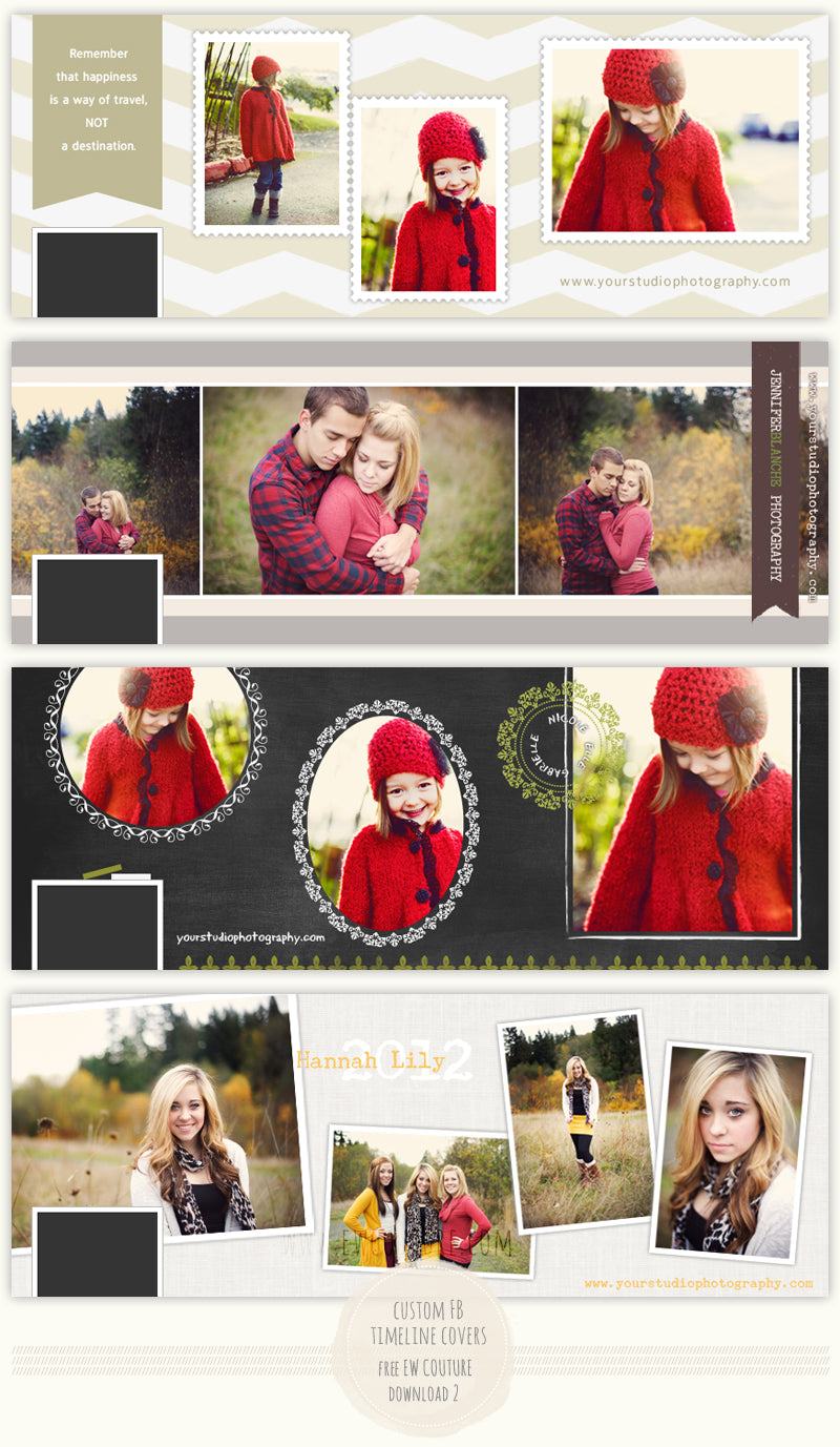 free custom christmas timeline covers  u2013 ew couture collection
