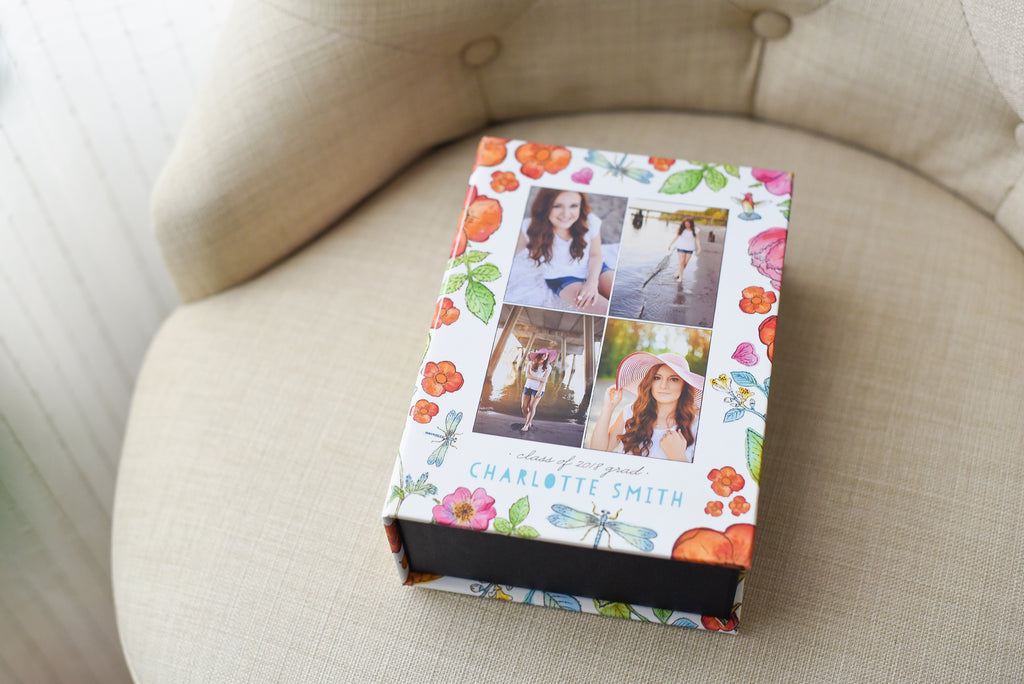 Storybook Illustration Keepsake Box | showcasing the beautiful images of Nicole Eastman Photography