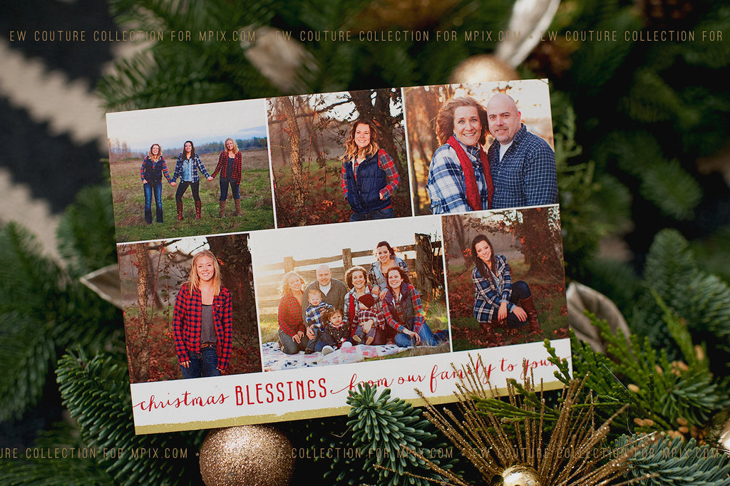 Glowing Grins Christmas Card