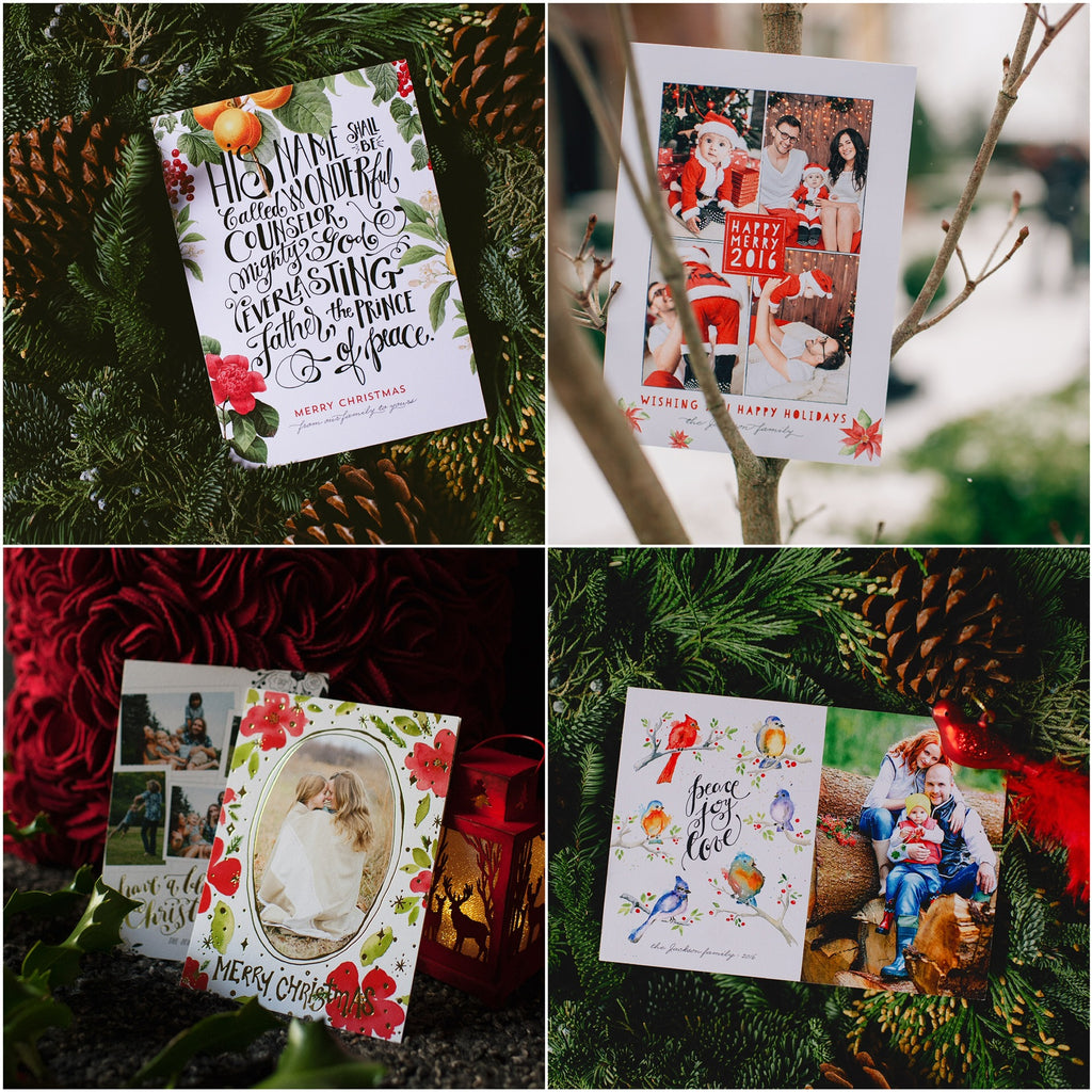Christmas and holiday cards by Mpix designed by EW Couture Collection